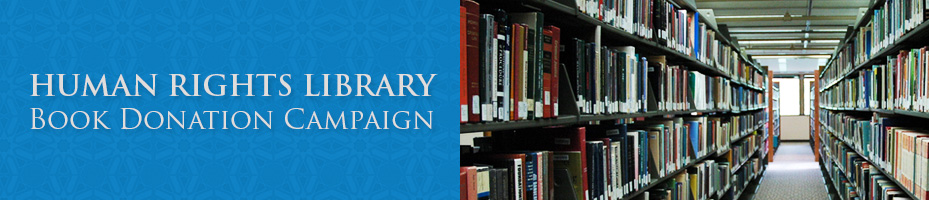 HUMAN-RIGHTS-LIBRARY-Book-Donation-Campaign
