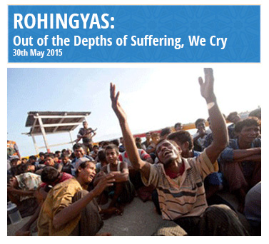 Out of depths of suffering, we cry for Rohingyas