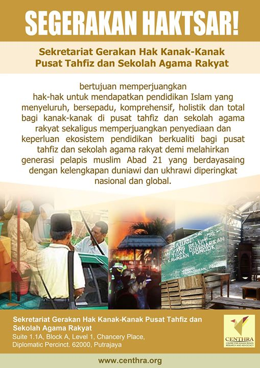 Centre For Human Rights Research and Advocacy shared Segerakan Haktsar's photo.