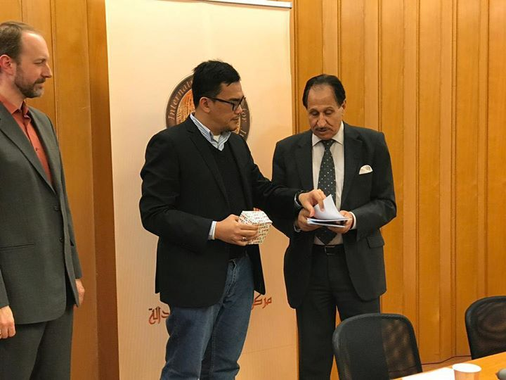 chairman presented #MACSA's Joint Submission for Malaysia's UPR to Dr. Naji Har…